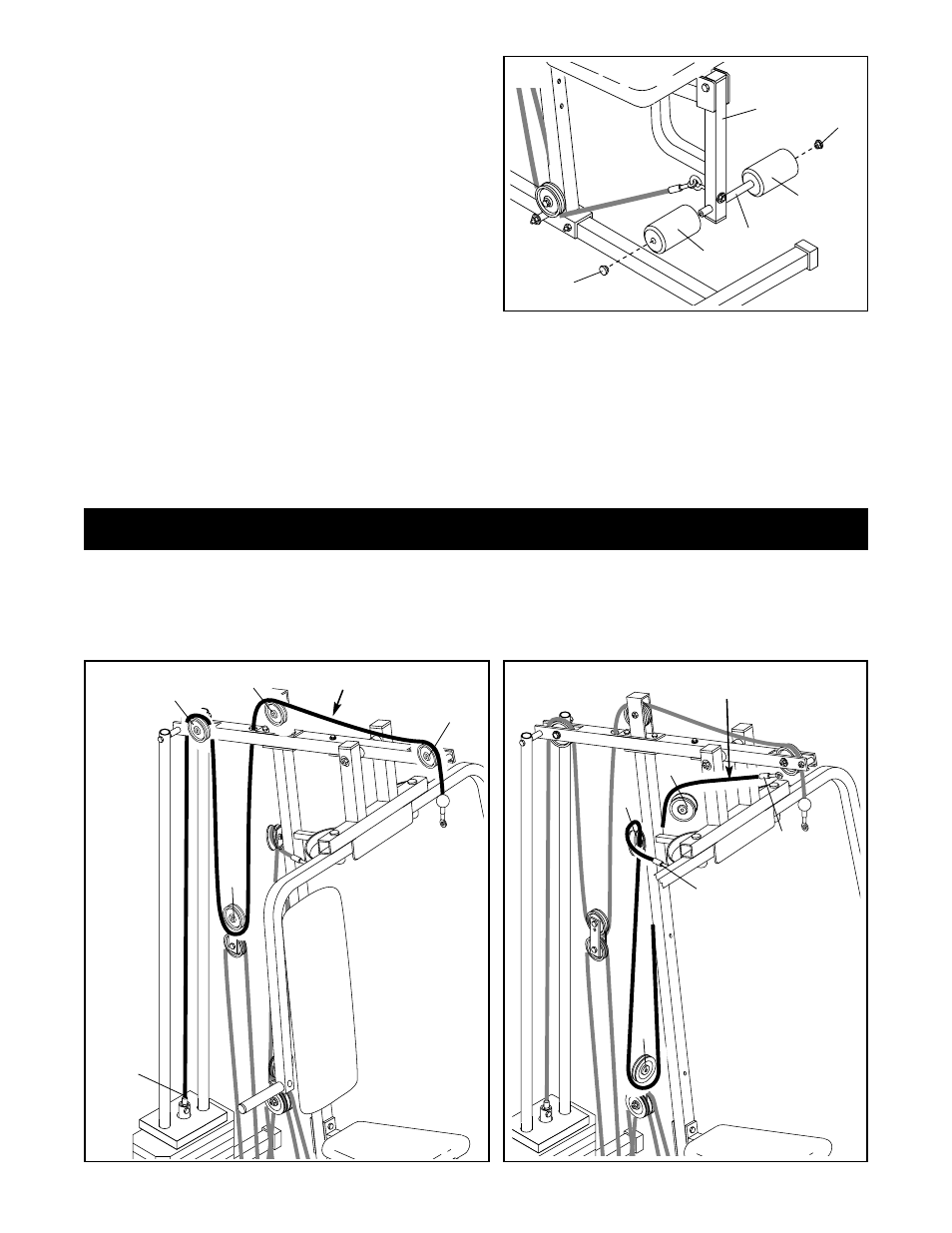 Cable diagram (1) | Weider WESY74090 User Manual | Page 15 / 27 on cable table, cable parts, cable chart, cable display, cable filter, cable label, cable drawing, cable plate, cable specification, cable computer, cable audio, cable end, cable tester circuit, cable schematic, cable construction, cable install, cable internet, cable tools, cable wiring, cable gauge,