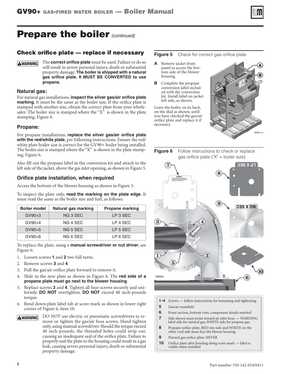 Prepare The Boiler  Gv90  Boiler Manual