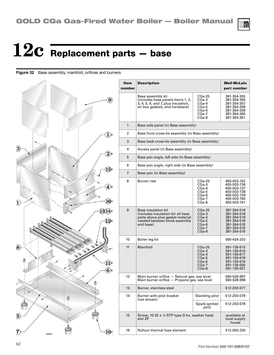 Funky Weil Mclain Cga Photos - Electrical Diagram Ideas - itseo.info
