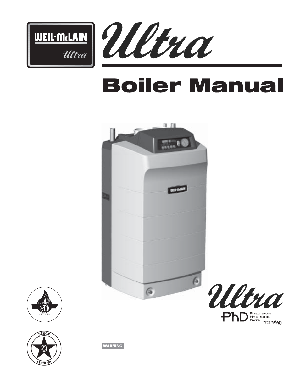 Weil-McLain ULTRA 80 EN User Manual | 44 pages | Also for: -155 EN