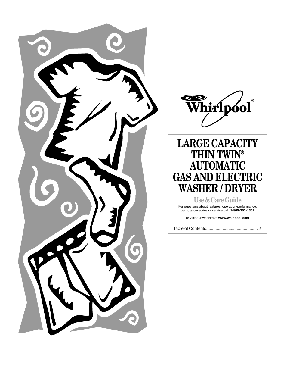 Whirlpool Thin Twin User Manual 18 Pages Also For 3406876