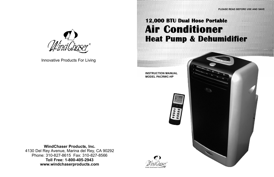 User manual for blue star ac
