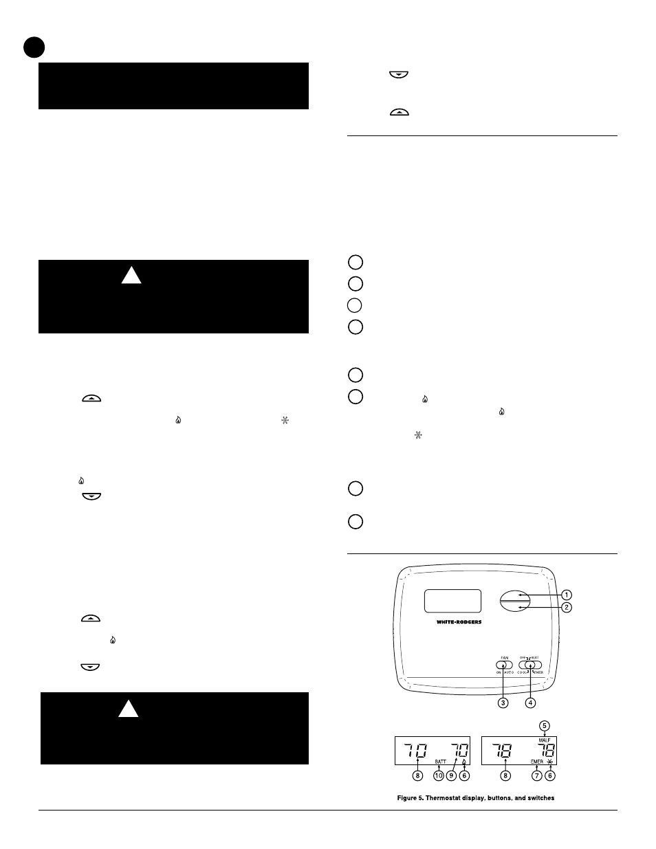 Caution check thermostat operation white rodgers 1f79 user caution check thermostat operation white rodgers 1f79 user manual page 4 6 biocorpaavc Choice Image