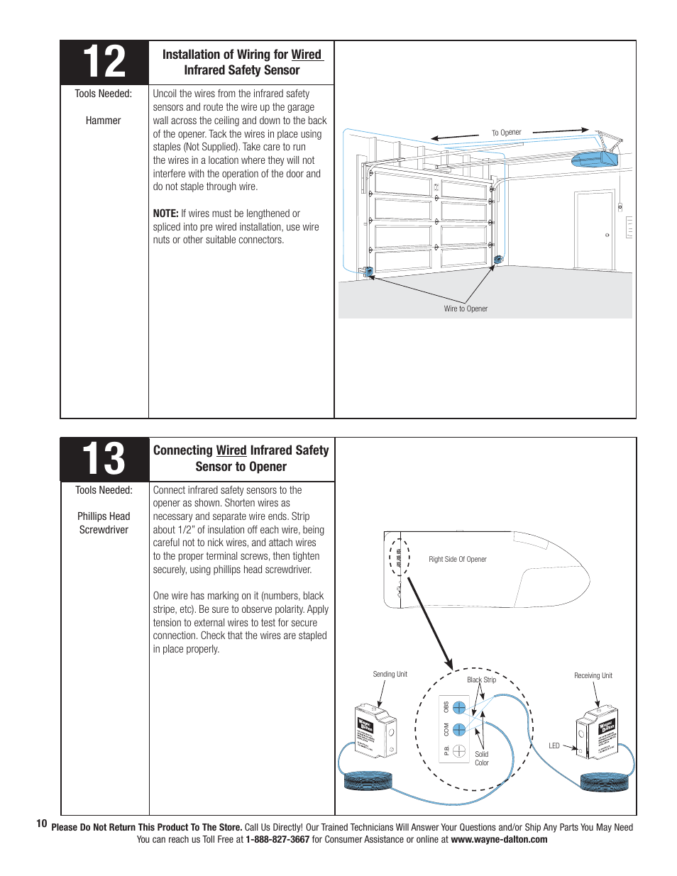 wayne dalton wiring diagram wayne-dalton prodrive 3222c-z user manual | page 16 / 48 ... wayne pump wiring diagram #2