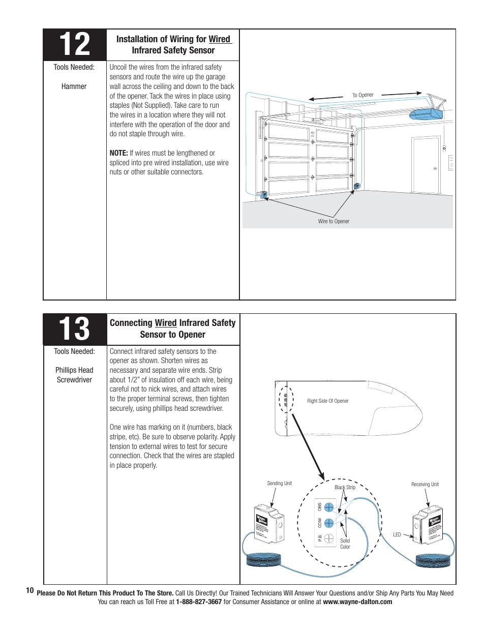 Wayne Dalton Prodrive 3222c Z User Manual Page 16 48 Also For Prodrive 3224c Z Prodrive 3324b Prodrive 3320b Prodrive 3322b Prodrive 3320b Z