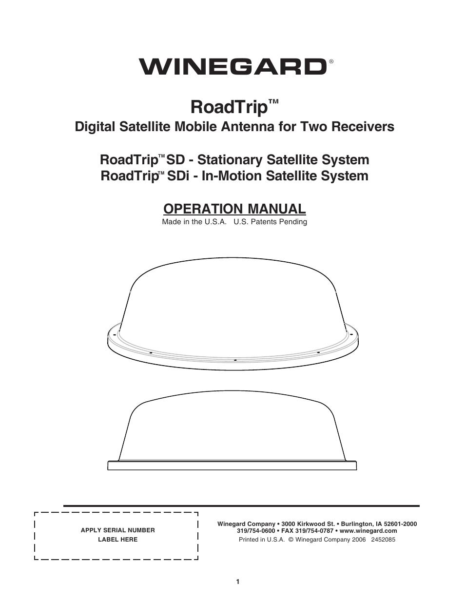 Winegard Hd7082p User Guide Carryout Wiring Diagram Marsha Linehan Skills Training Manual