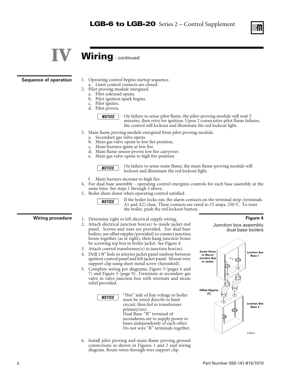 Weil Mclain Lgb Wiring Diagram Free Download Boiler Schematic 6 To 20 User Manual Page 8