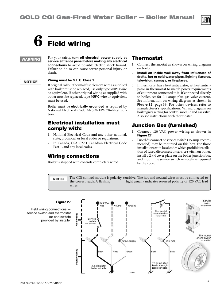 Weil Mclain Cgi Boiler Wiring Diagram Schematics And Diagrams Field Gold Gas Fired Water Manual
