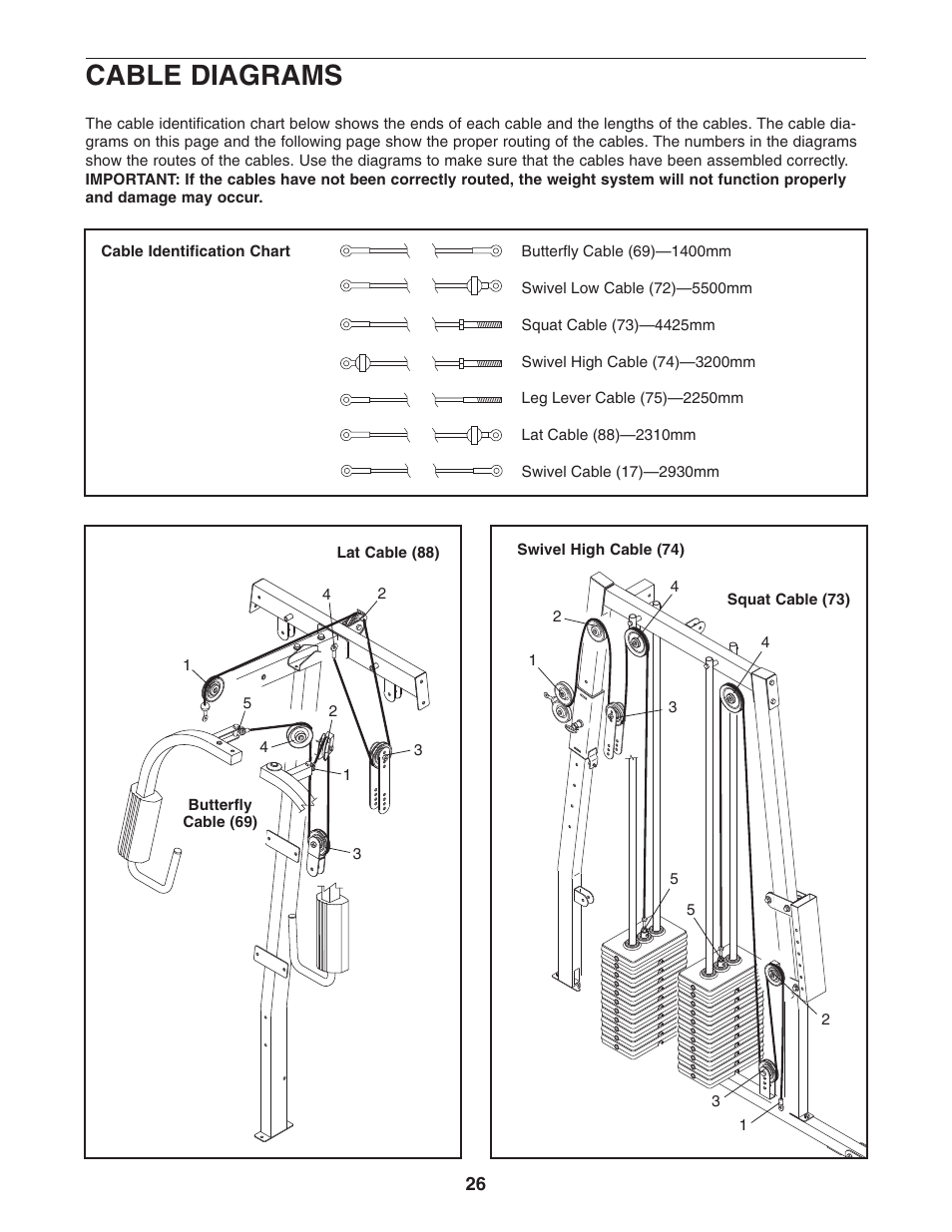 Weider pro 4850 831. 153932 user manual | page 2 / 33.
