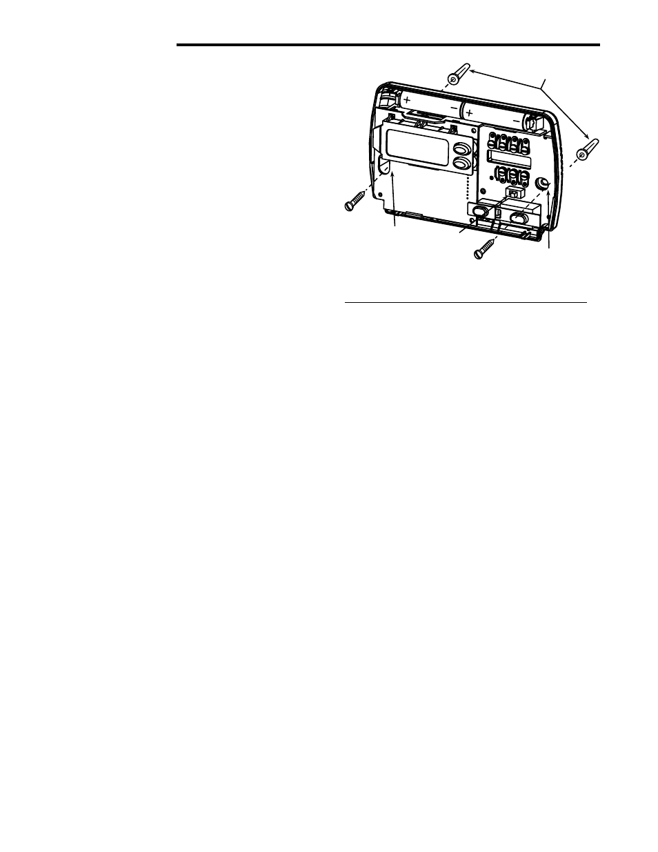 White Rodgers Thermostat Wiring Diagram 1F86-244 from www.manualsdir.com