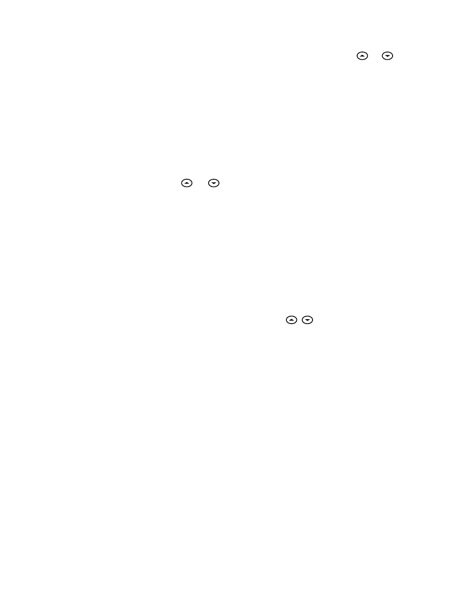 Operating features, Setting the thermostat | White Rodgers 1f86-244 User  Manual | Page