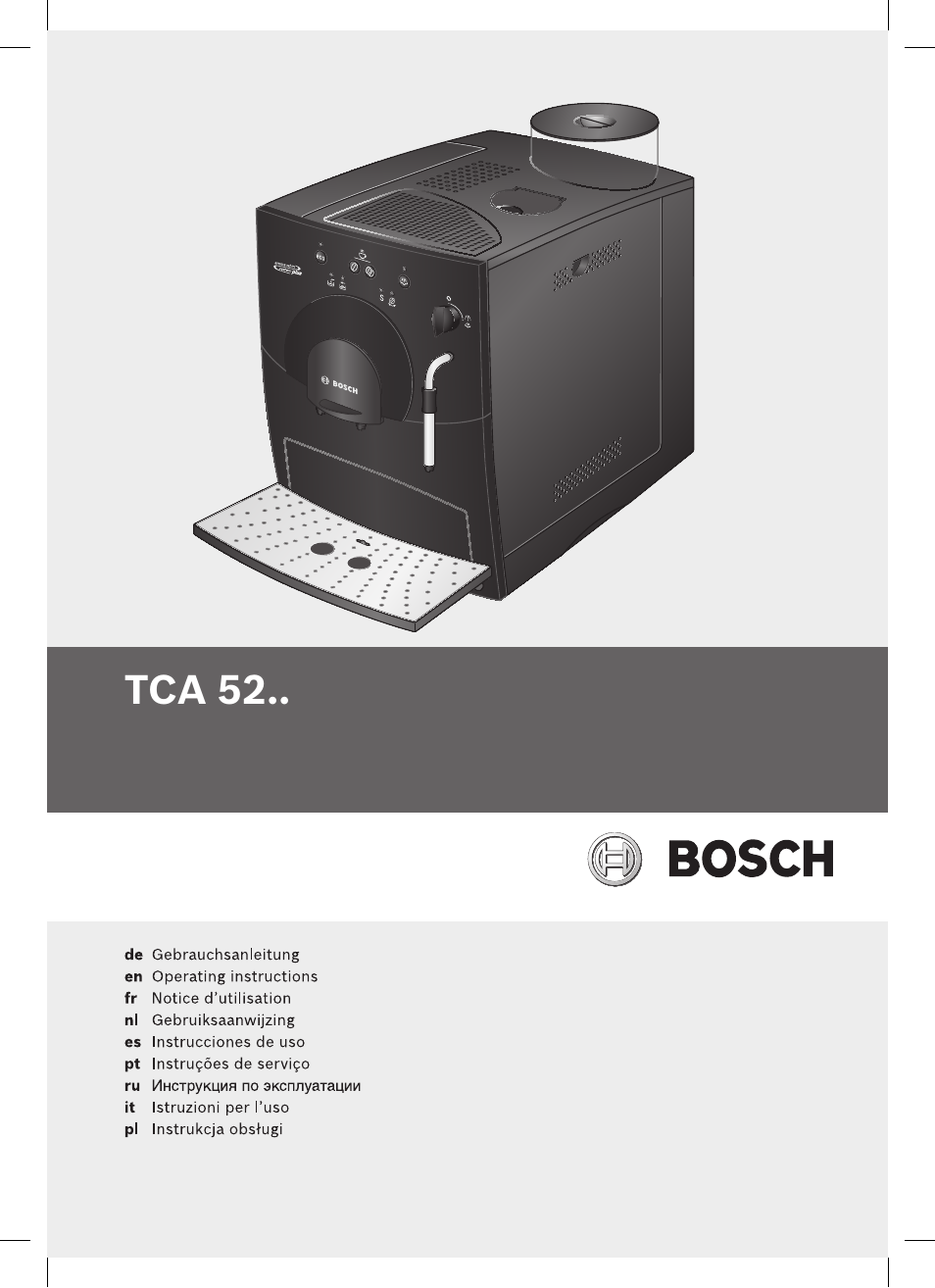 pdf download bosch tca 5201 user manual 100 pages rh manualsdir com bosch owner's manual bosch owners manuals for refrigerators