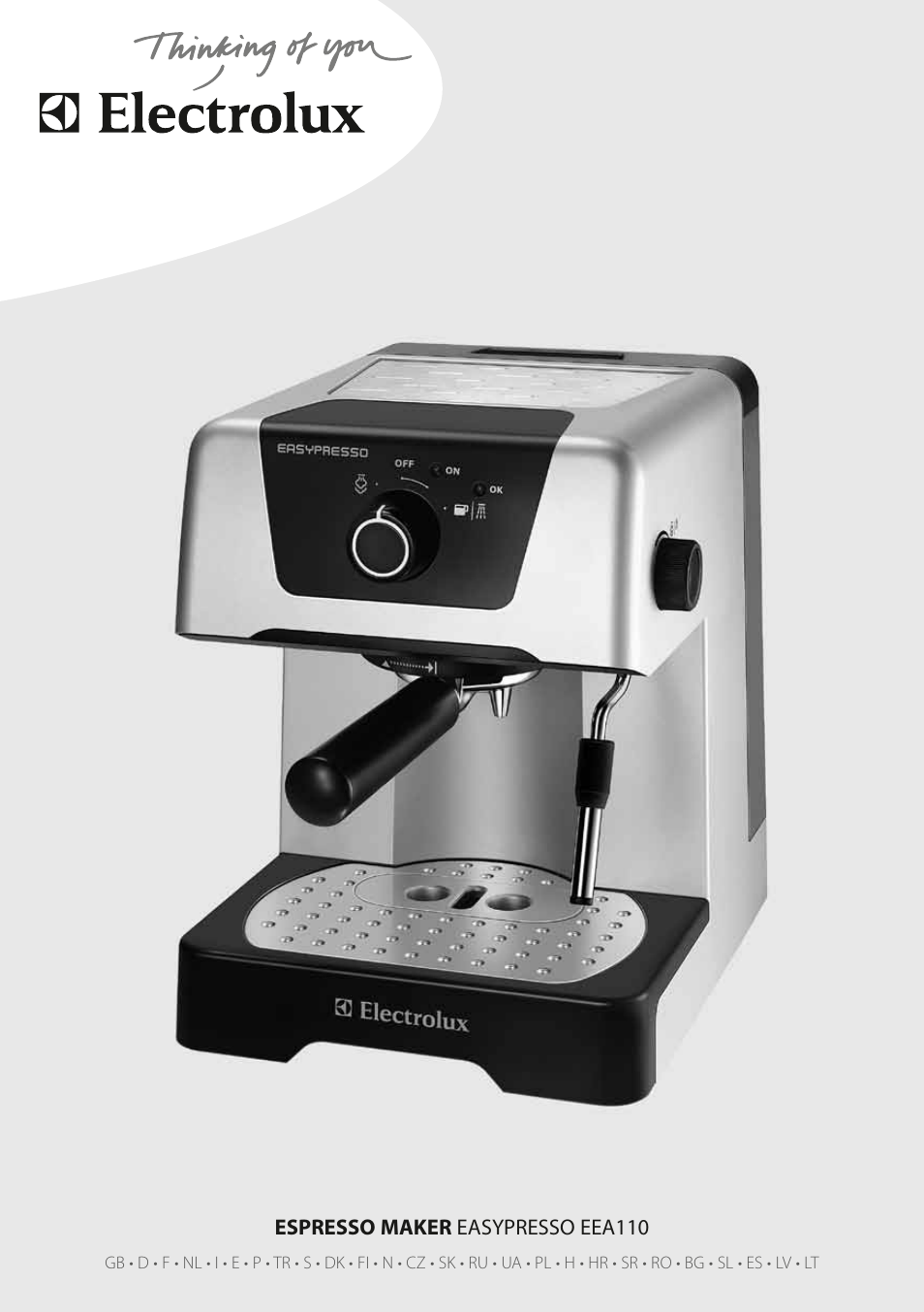 Electrolux Coffee Maker Manual : Electrolux EEA110 User Manual 88 pages