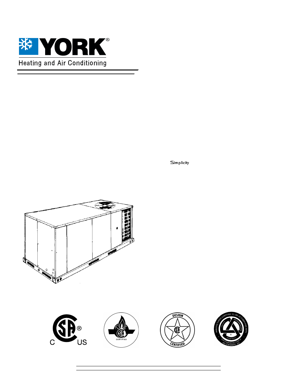 york air conditioners user manual book db
