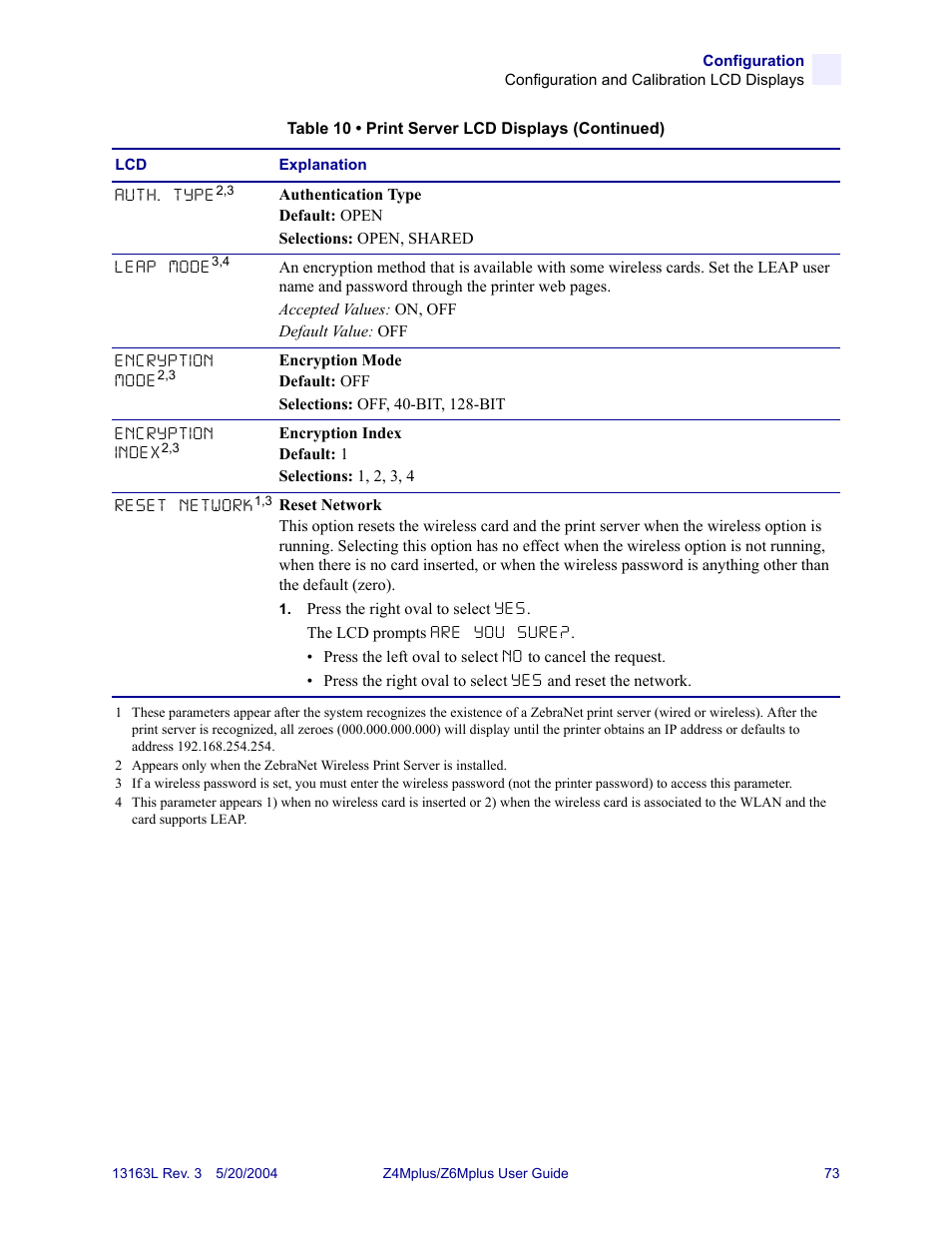 Zebra Technologies Z6Mplus User Manual | Page 91 / 142