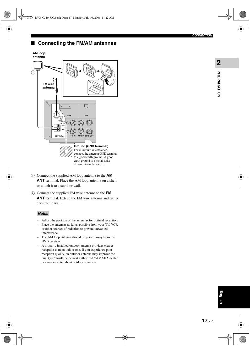 Download free pdf for yamaha dvx-c310 home theater manual.