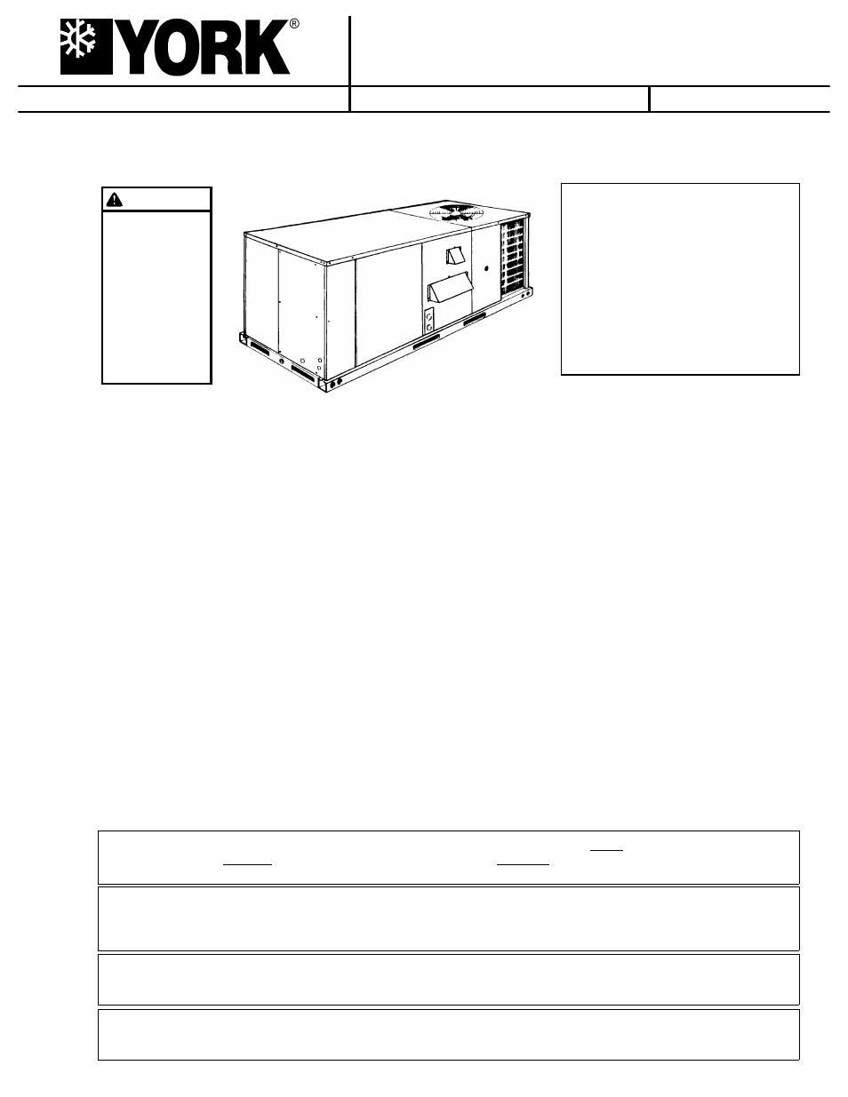 York SUNLINE 2000 D2CG 072 User Manual | 20 pages | Also for: SUNLINE 2000  D7CG 036, SUNLINE 2000 D7CG 048, SUNLINE 2000 D7CG 060