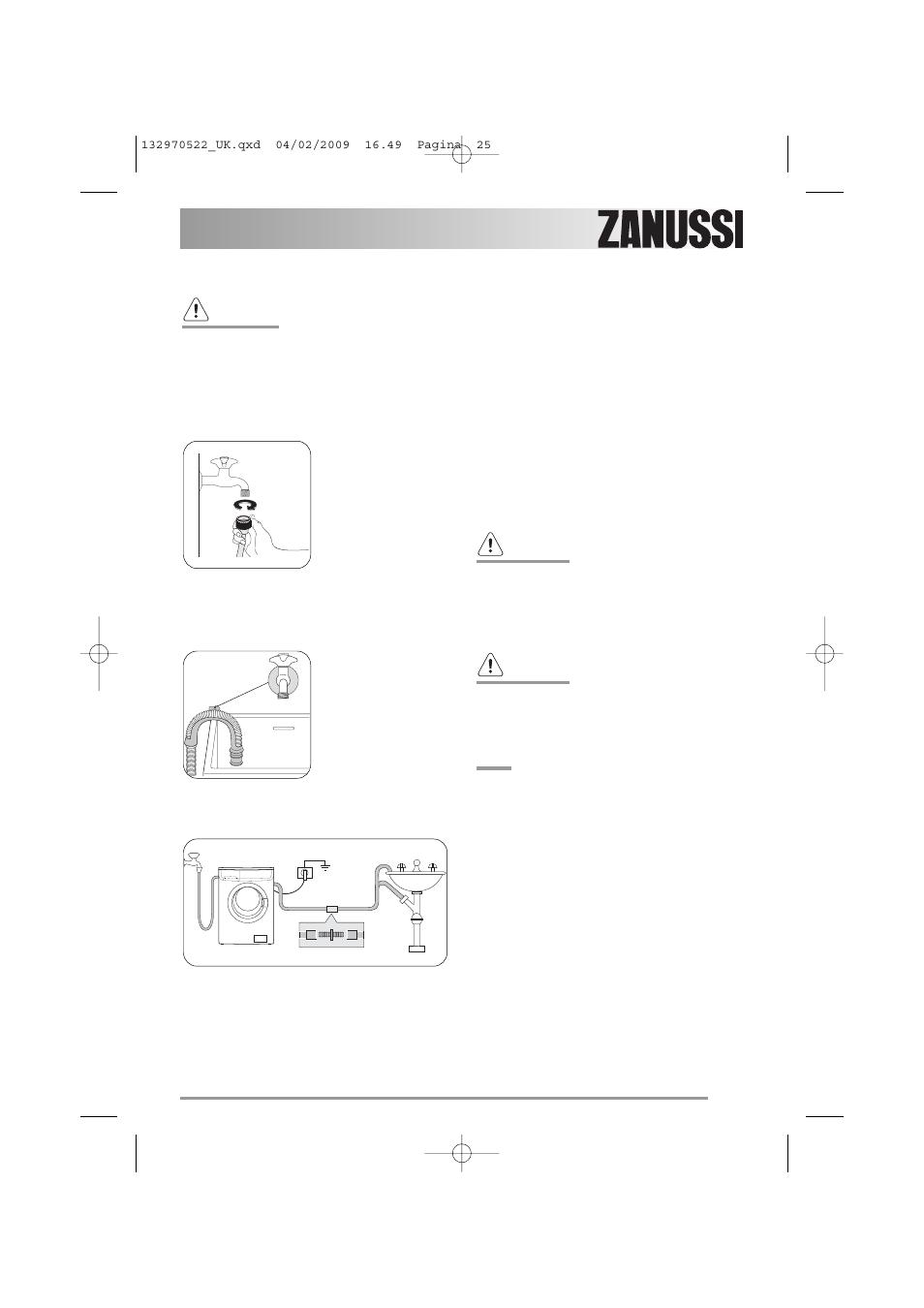 Zanussi ZWG 5140 User Manual | Page 25 / 28