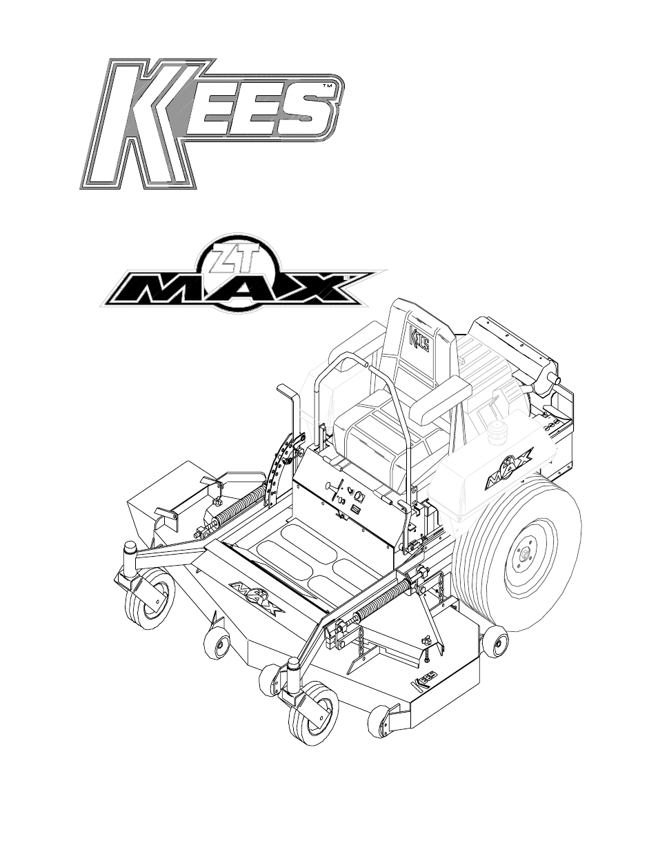 yazoo  kees zt max zkh52221 user manual