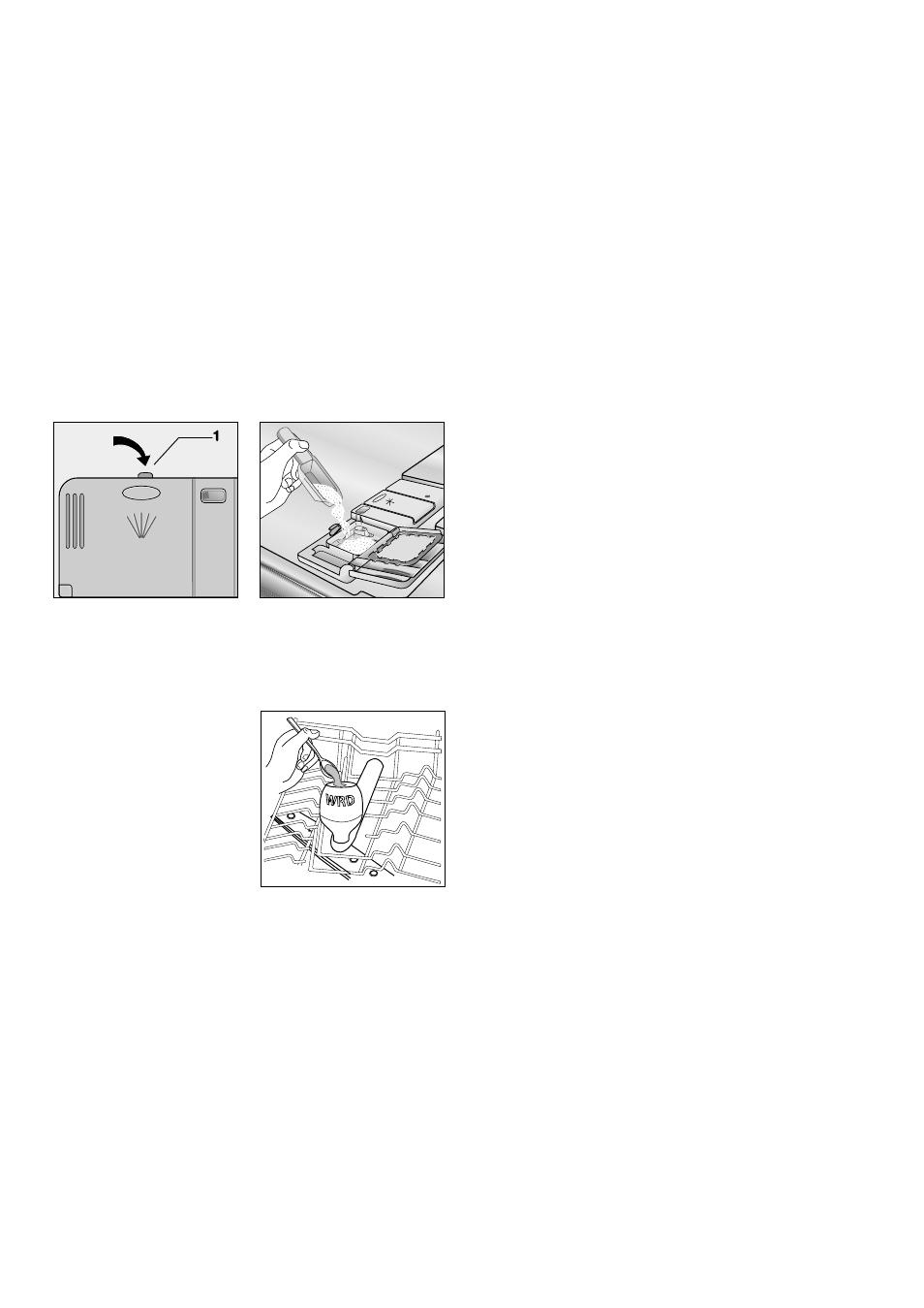 use of detergent fill with detergent zanussi de 6850 user manual rh manualsdir com