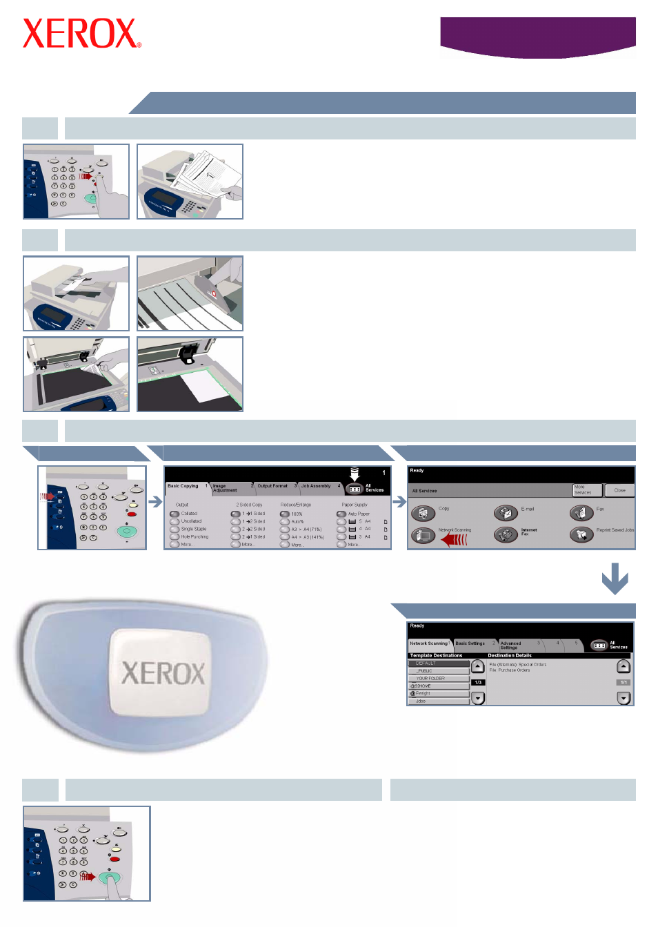Xerox 5638 User Manual | Page 6 / 10 | Also for: 5632, 5675, 5655,  WorkCentre 5645, WorkCentre 5665, WorkCentre 5687