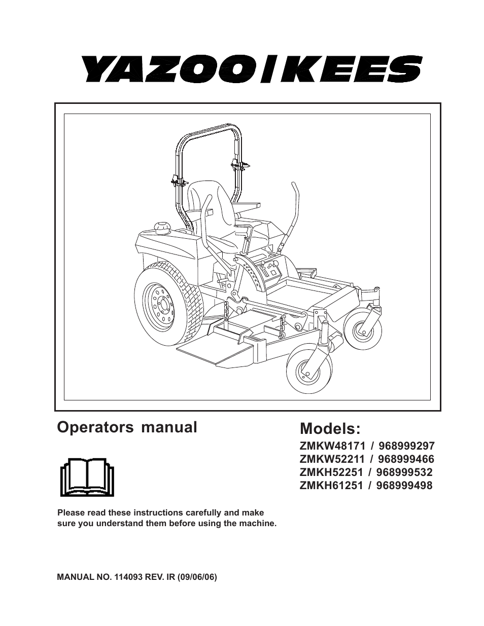 Yazoo  Kees Zmkw48171    968999297 User Manual