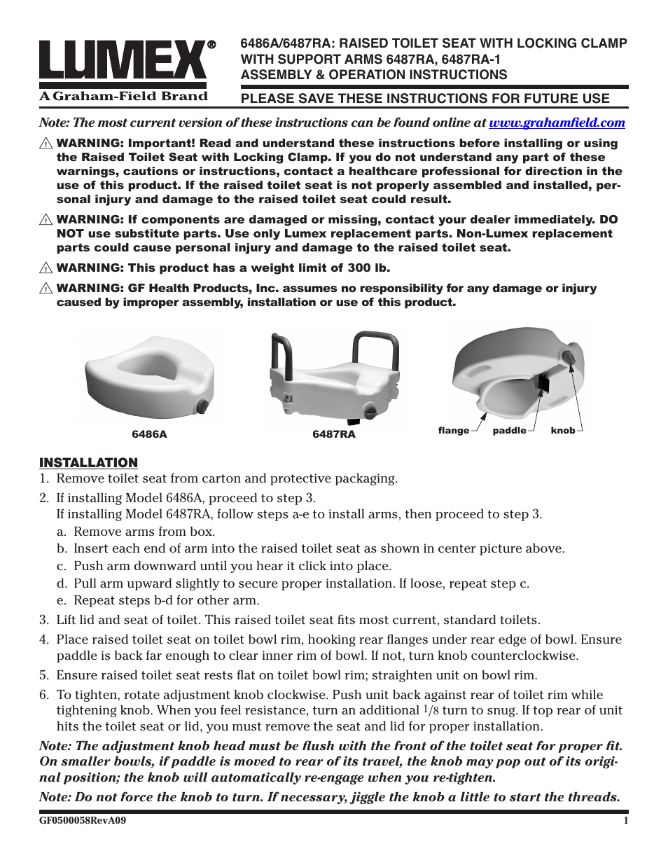 Fantastic Lumex Syatems 6487Ra User Manual 2 Pages Also For 6486A Pabps2019 Chair Design Images Pabps2019Com