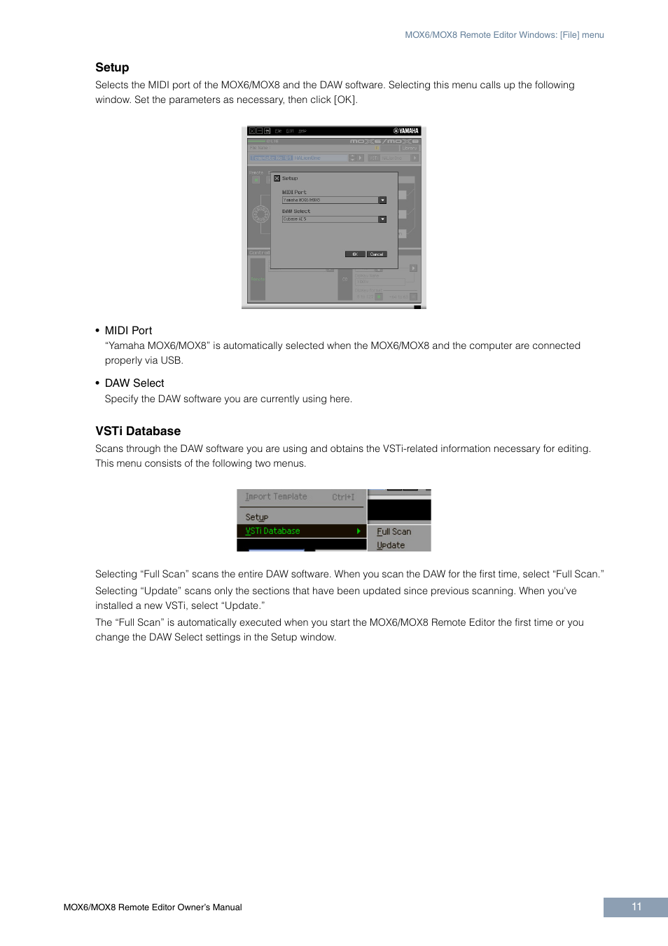 Yamaha MOX6 User Manual | Page 11 / 14 | Also for: MOX8
