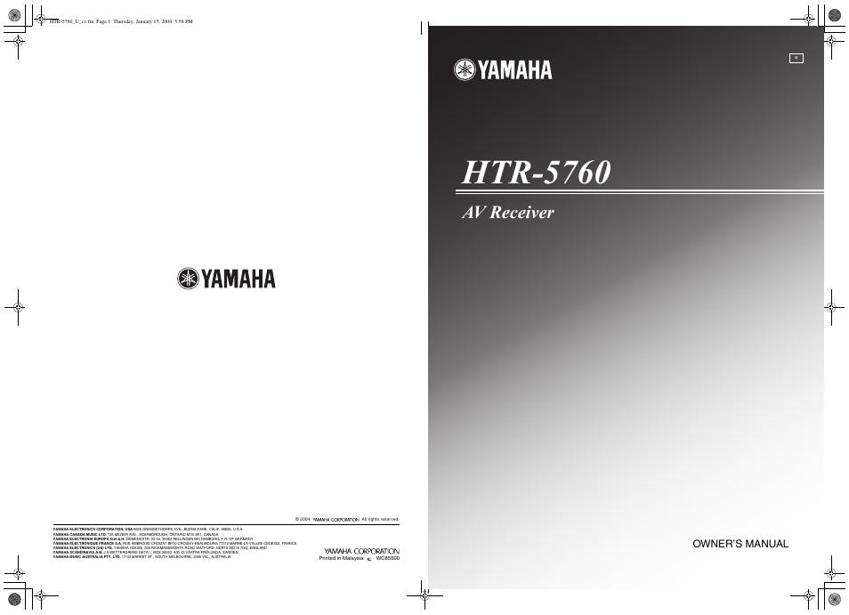 yamaha htr 5760 user manual 88 pages rh manualsdir com yamaha htr 5740 manual pdf yamaha htr 5740 manual pdf
