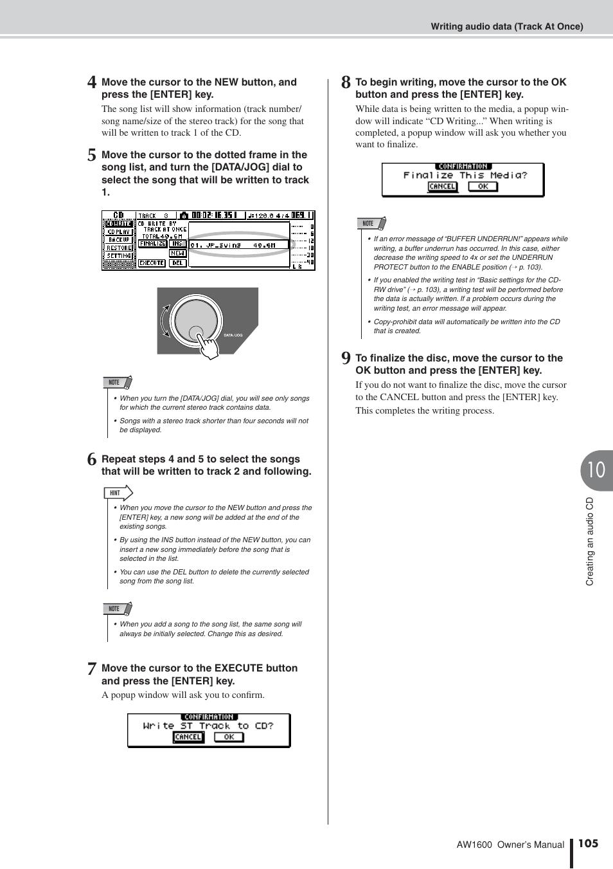 ... Array - yamaha aw1600 user manual page 105 232 original mode rh  manualsdir com