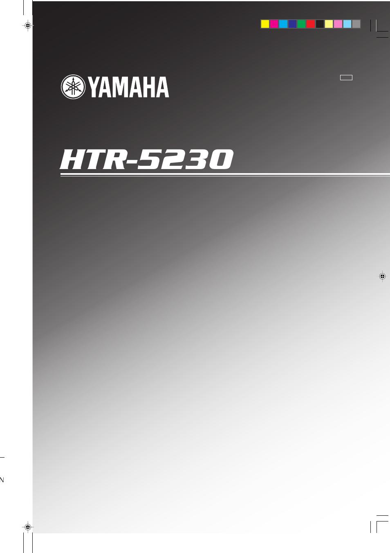 yamaha htr 5830 manual download
