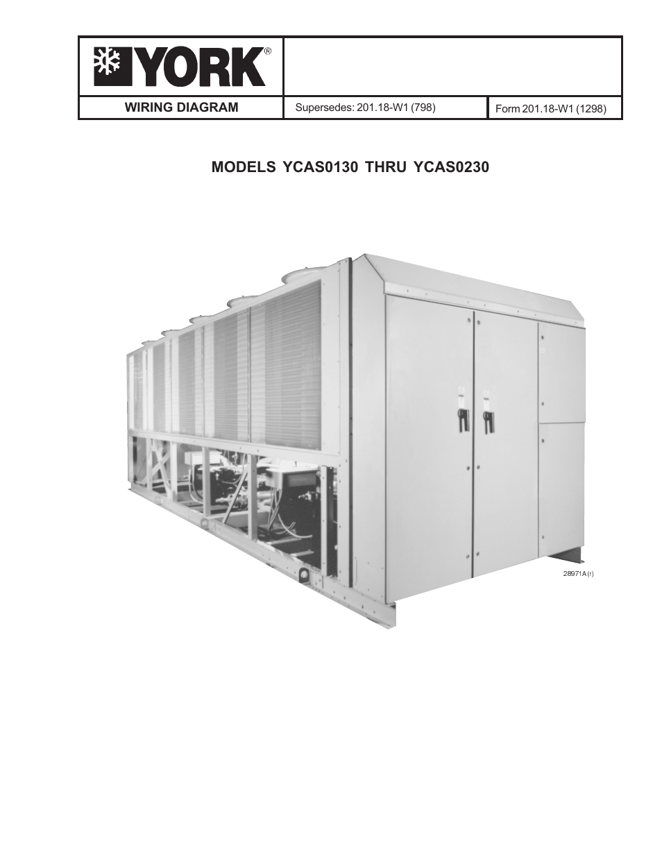 York Millennium Ycas0230 User Manual 28 Pages Also For Shipping Container Wiring Diagram Ycas0130