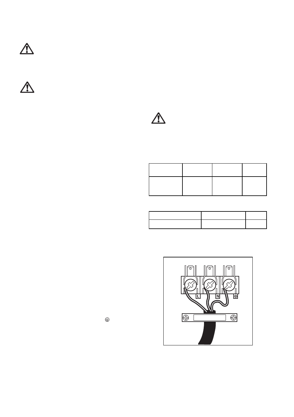 Instructions For The Installer Electrical Connections Supply Cable Control Wiring Book Specifications Zanussi Zce 610 X User Manual Page 25