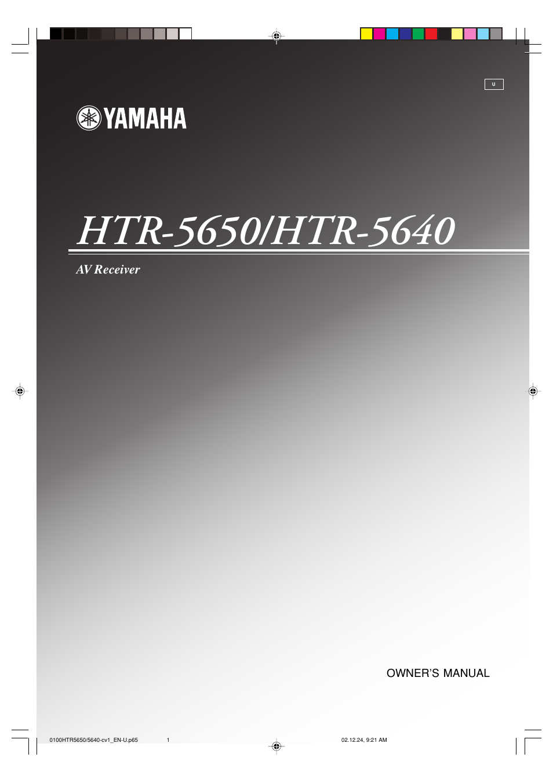 yamaha htr 5650 user manual 66 pages rh manualsdir com