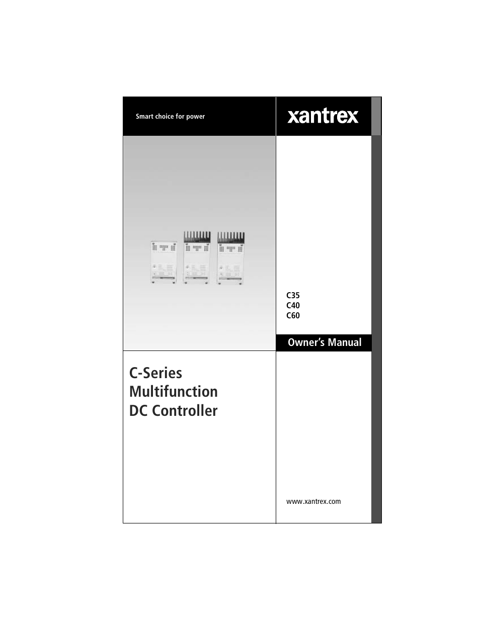 xantrex technology c40 user manual 114 pages also for c35 c60 rh manualsdir com Xantrex Battery Monitor Xantrex Powerpack
