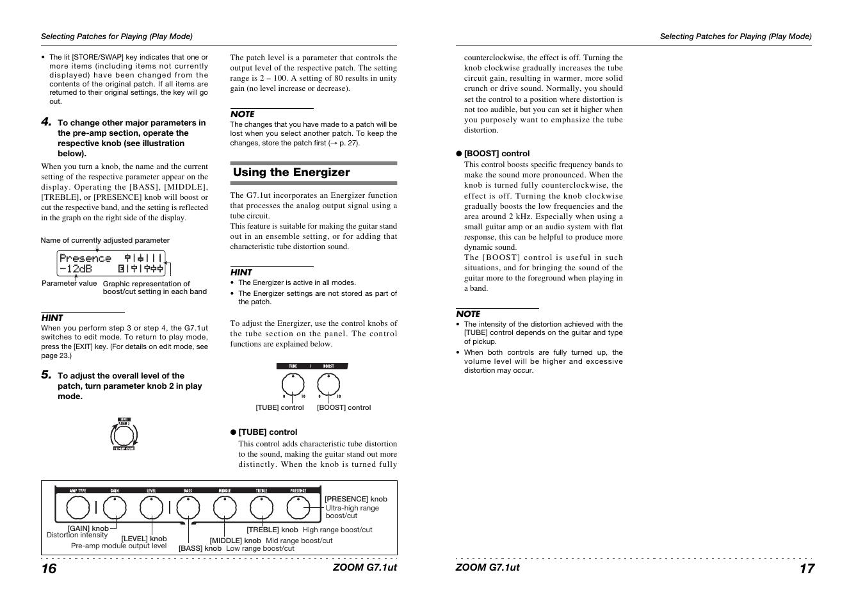 zoom g7 1ut user manual page 9 41 original mode rh manualsdir com zoom r16 user manual zoom a3 user manual
