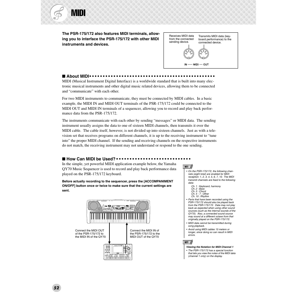 midi grandpno yamaha psr 172 en user manual page 52 64 rh manualsdir com yamaha psr 172 user manual yamaha psr-172 manual download