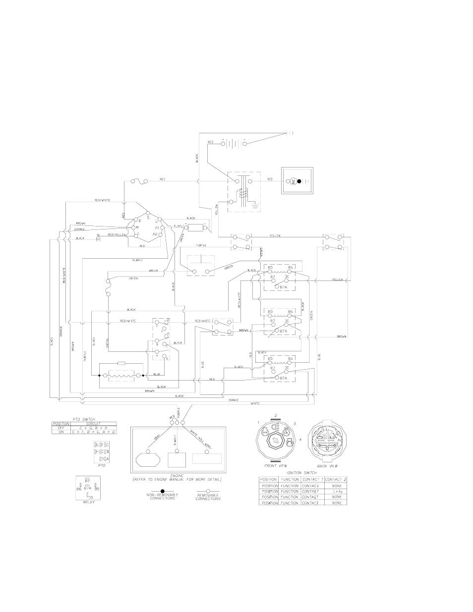 yazoo ignition switch wiring diagram wiring diagrams  yazoo ignition switch wiring diagram #1