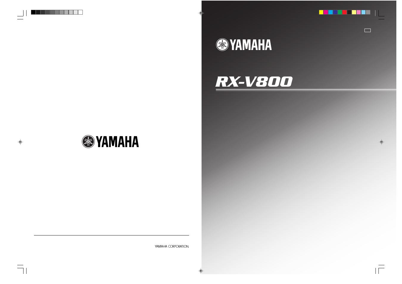 Yamaha Receiver User Manuals Block Diagram Canonir5000 Rx 530 Stereo Array V800 Manual 82 Pages Rh Manualsdir