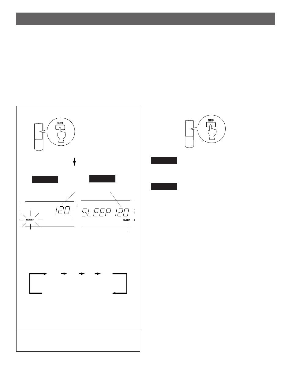 Setting the sleep timer | Yamaha R-V501 User Manual | Page