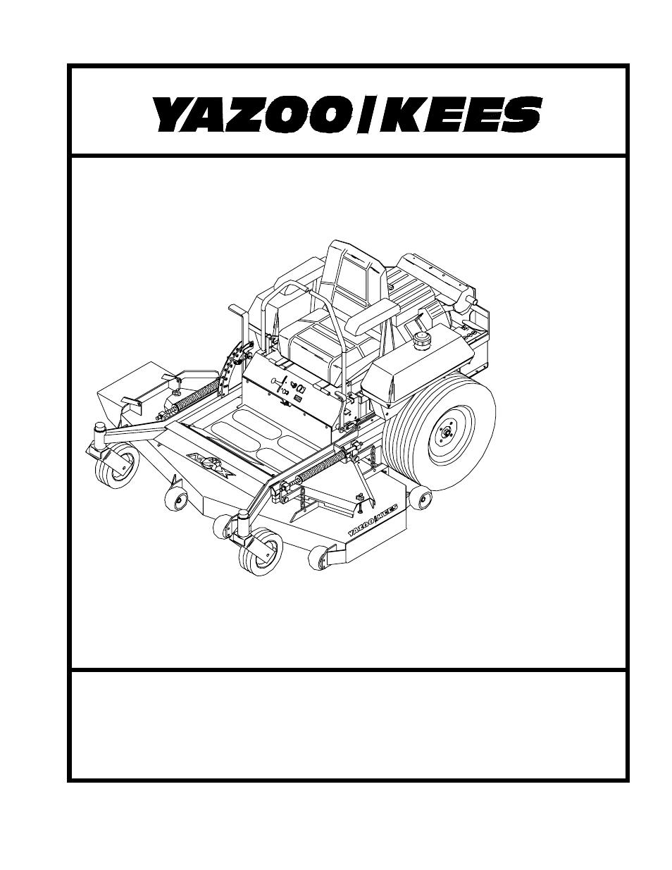 Yazoo  Kees Zkh61253 User Manual