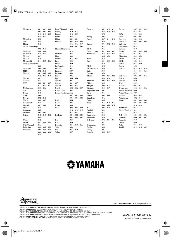 yamaha htr 6130 user manual page 75 77 original mode rh manualsdir com htr-6130 manual pdf yamaha htr 6130 manual french