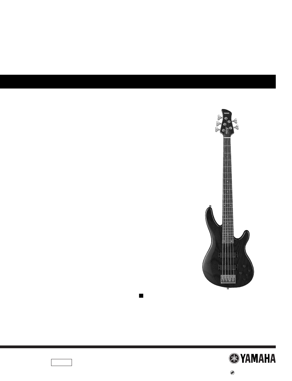 Yamaha Electric Bass Guitar Wiring Diagram Archive Of Automotive Images Gallery Trb 5ii User Manual 8 Pages Also For Rh Manualsdir Com