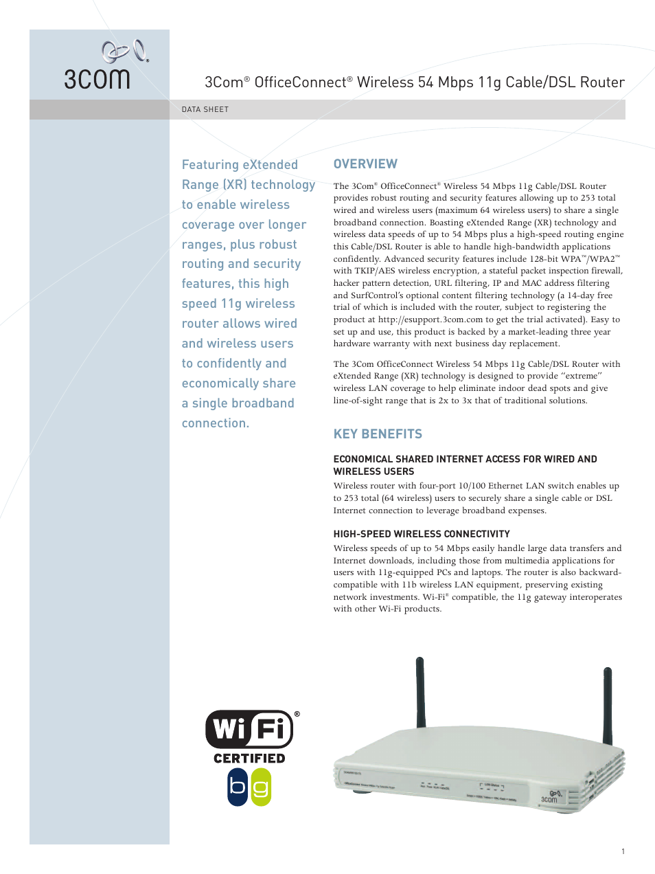 3Com WL-537 User Manual | 4 pages