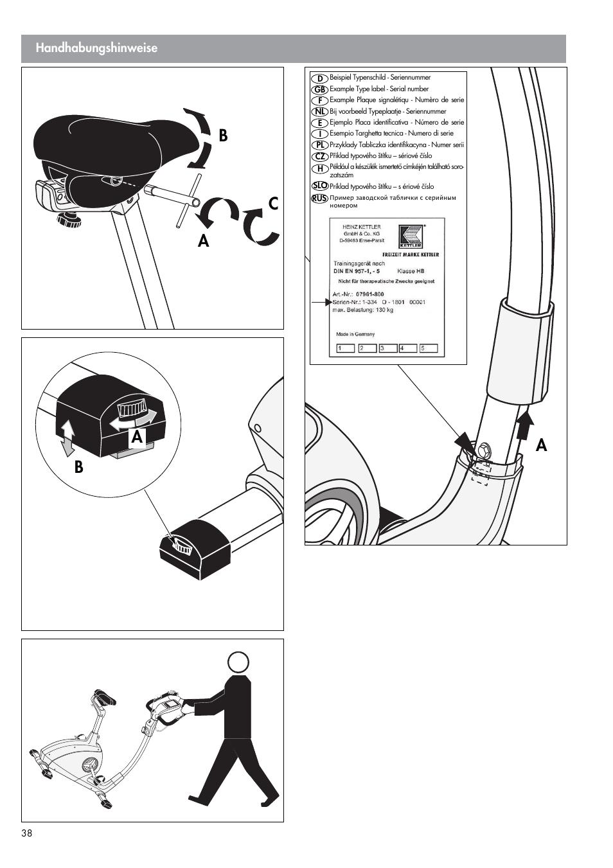 Wonderlijk Kettler Golf M (maintenance) User Manual | Page 14 / 24 IM-43