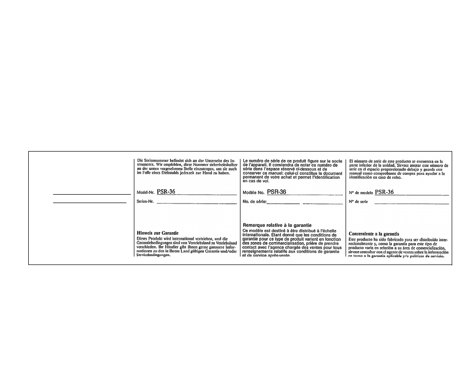 yamaha yamaha psr 36 user manual page 28 28 rh manualsdir com yamaha psr-36 manual pdf yamaha psr-36 user manual
