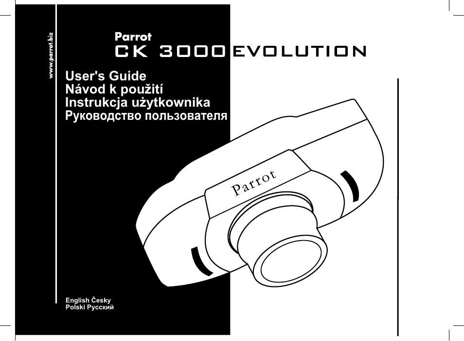 Parrot Ck3000 Evolution User Manual