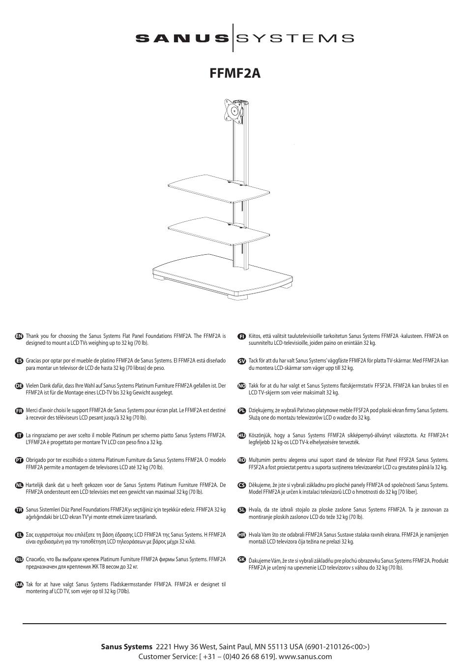 hama ffmf2a sb1 user manual 16 pages original mode rh manualsdir com Sanus Cfr2115 Sanus Cfr2115