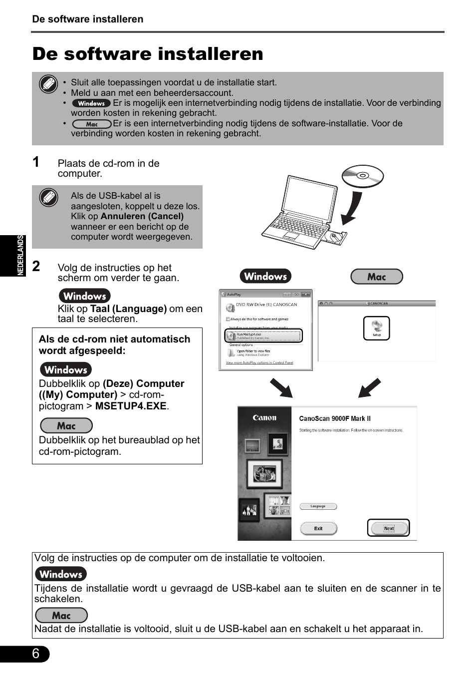 canon software manuals