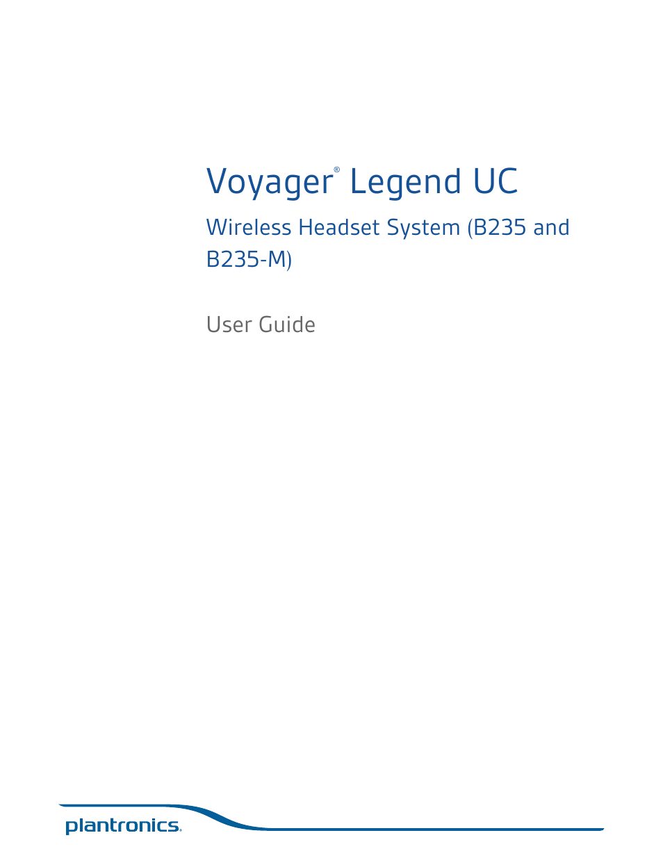 plantronics voyager 835 user manual